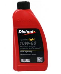 Масло DIVINOL SYNTHOLIGHT 10W60 1L