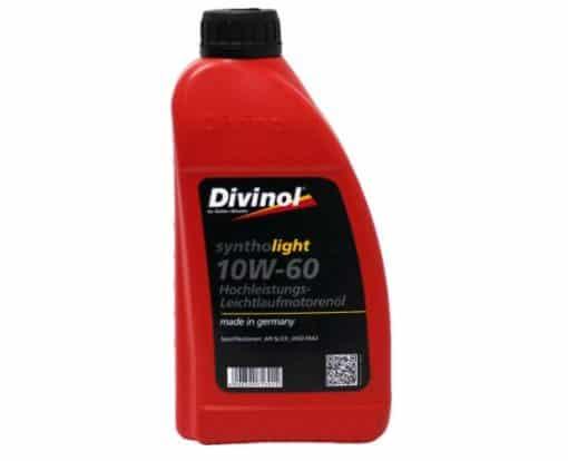 Масло DIVINOL SYNTHOLIGHT 10W60 1L