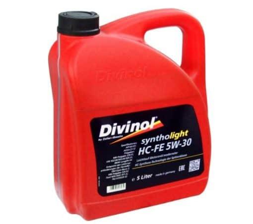 Масло DIVINOL SYNTHOLIGHT HC FE 5W30 5L