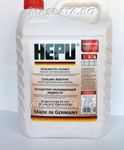 Червен антифриз концентрат Hepu G12 – 80C - 5 Литра