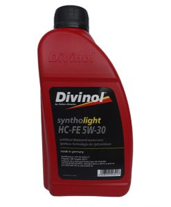 Масло DIVINOL SYNTHOLIGHT HC-FE 5W30 1L
