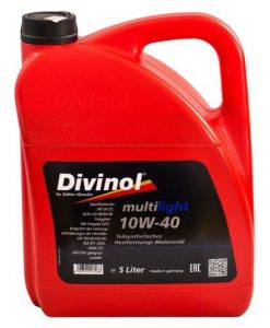 Масло DIVINOL MULTILIGHT 10W40 5L