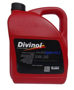 Масло DIVINOL MULTILIGHT FO 2 5W30 5L