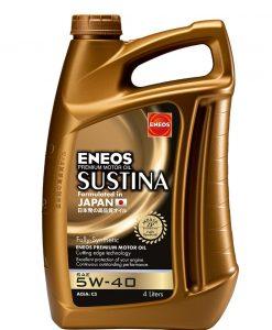 Масло ENEOS SUSTINA 5W40 4L