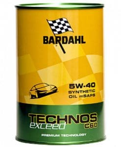 BARDAHL TECHNOS C60 EXCEED 5W40