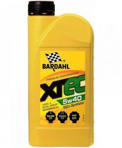 Масло BARDAHL XTEC 5W40 1L