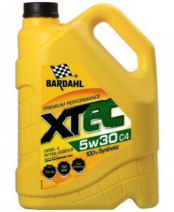 Масло BARDAHL XTEC 5W30 C4 5L