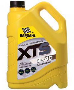 Масло BARDAHL XTS 0W40 5L