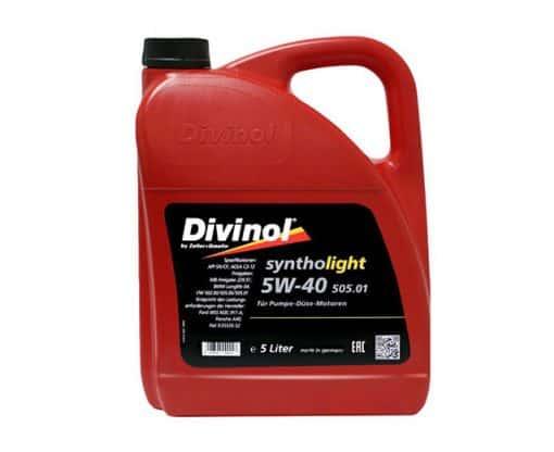 Масло DIVINOL SINTHOLIGHT 505.01 5W40 5L