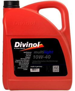 Двигателно масло DIVINOL MULTILIGHT 10W40 5L
