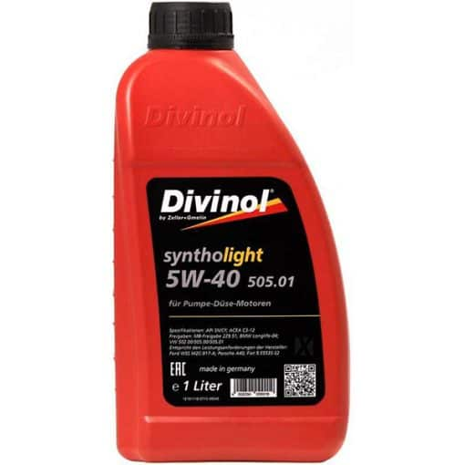 Двигателно масло DIVINOL SINTHOLIGHT 505.01 5W40 1L