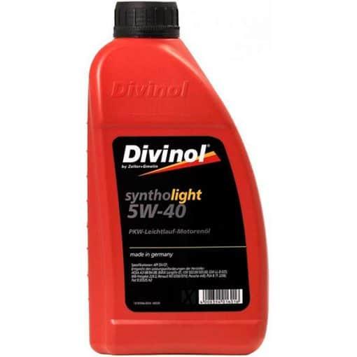 Двигателно масло Divinol Syntholight 5W40 1L