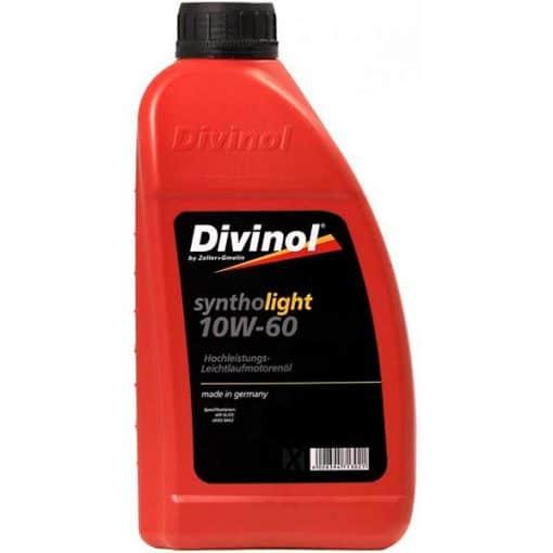 Двигателно масло DIVINOL SYNTHOLIGHT 10W60 1L
