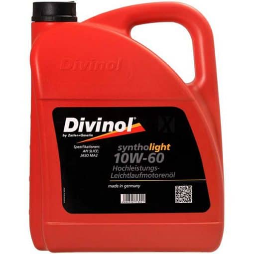Двигателно масло DIVINOL SYNTHOLIGHT 10W60 5L