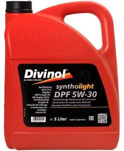 Двигателно масло DIVINOL SYNTHOLIGHT DPF 5W30 5L