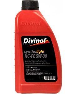 Двигателно масло DIVINOL SYNTHOLIGHT HC-FE 5W30 1L