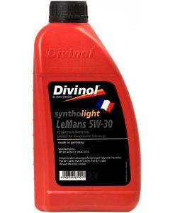 Двигателно масло DIVINOL SYNTHOLIGHT LEMANS 5W30 1L