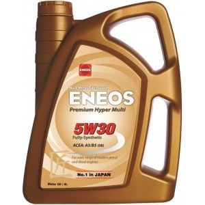 Двигателно масло ENEOS PREMIUM HYPER MULTI 5W30 4L