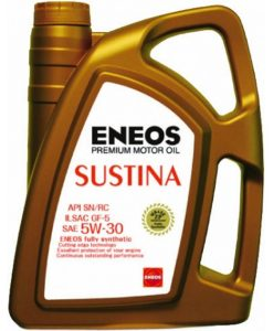 Двигателно масло ENEOS SUSTINA 5W30 4L