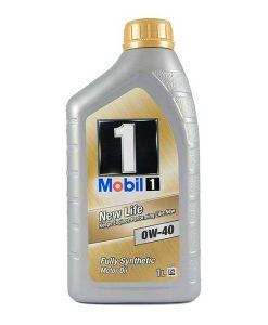 Двигателно масло MOBIL 1 NEW LIFE 0W40 1L