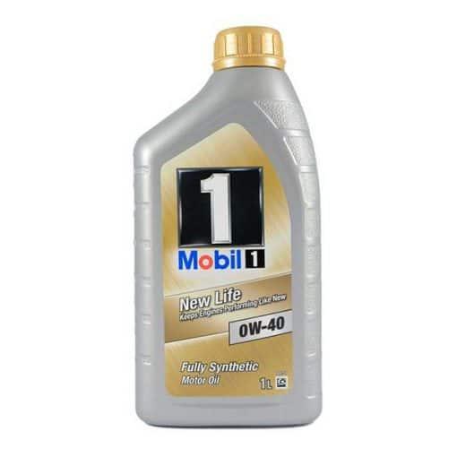 Двигателно масло MOBIL 1 NEW LIFE 0W-40 1L