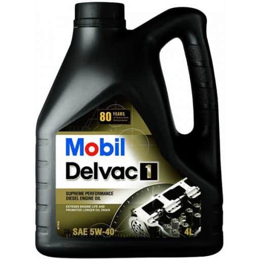 Двигателно масло MOBIL DELVAC 1 5W-40 4L