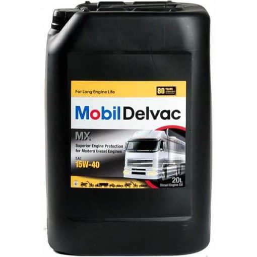 Двигателно масло MOBIL DELVAC MX 15W40 20L