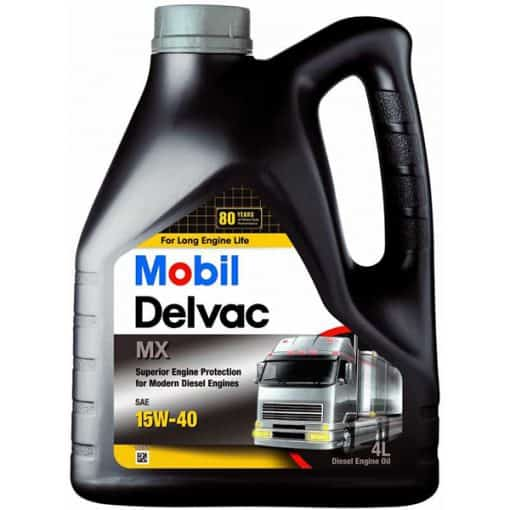 Двигателно масло MOBIL DELVAC MX 15W40 4L