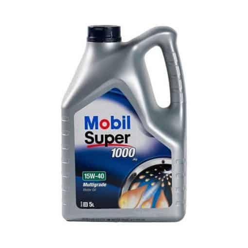 Двигателно масло MOBIL SUPER 1000 X1 15W40 5L