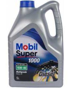 Двигателно масло MOBIL SUPER 1000 X1 Diesel 15W40 5L