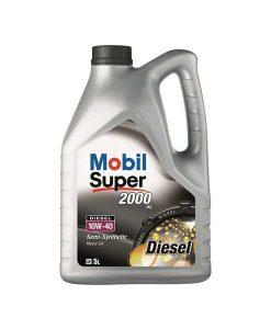 Двигателно масло MOBIL SUPER 2000 X1 Diesel 10W40 5L
