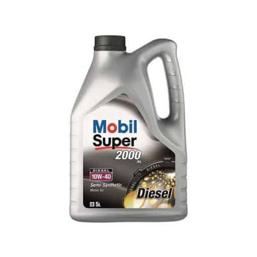 Двигателно масло MOBIL SUPER 2000 X1 Diesel 10W-40 5L