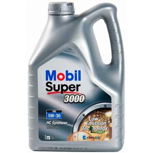 Двигателно масло MOBIL SUPER 3000 XE 5W-30 5L