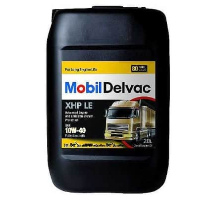 Масло MOBIL DELVAC XHP LE 10W40 20L