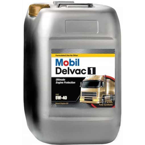 Двигателно масло MOBIL DELVAC 1 5W-40 20L