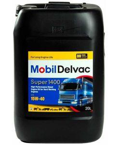 Двигателно масло MOBIL DELVAC SUPER 1400 15W40 20L
