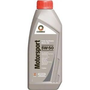Автомобилно масло COMMA MOTORSPORT 5W-50 1L