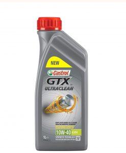 Масло CASTROL GTX ULTRACLEAN 10W40 - 1 литър