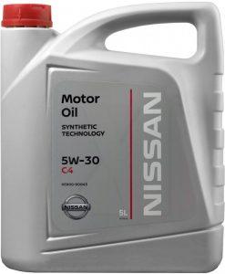Оригинално масло NISSAN 5W30 DPF 5L KE900-90043