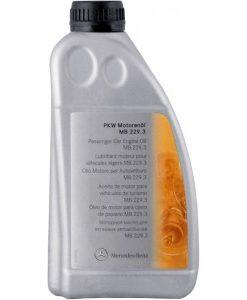 5w40 оригинално масло MERCEDES 229.3 1 литър