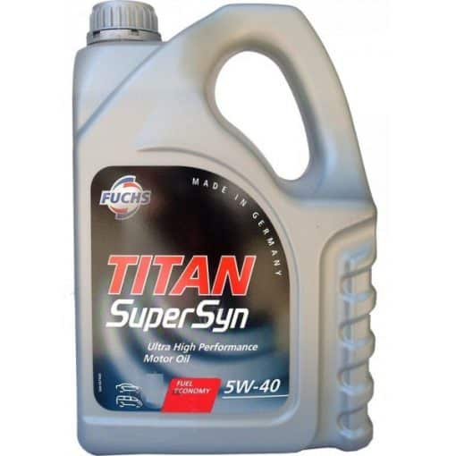Двигателно масло FUCHS TITAN SUPERSYN 5W40 4L