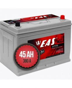 Акумулатор EAS Activa Asia +2Ah EXTRA 45Ah 380a 12V L+