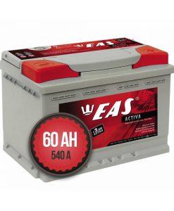 EAS Activa +2Ah EXTRA 60Ah 540a 12V R+