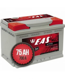 Акумулатор EAS Activa +2Ah EXTRA 75Ah 700a 12V R+