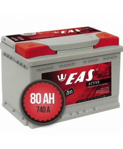 Акумулатор EAS Activa +2Ah EXTRA 80Ah 740a 12V R+