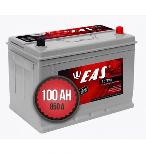Акумулатор EAS Activa +2Ah EXTRA 100Ah 850a 12V R+