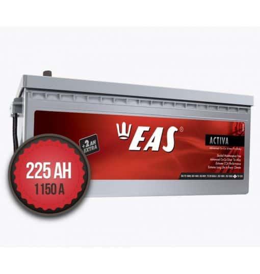 Акумулатор EAS Activ-A Super Heavy Duty +2Ah EXTRA 225Ah 1150a L+
