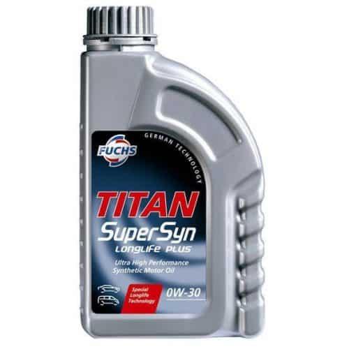 Двигателно масло FUCHS TITAN SUPERSYN LONGLIFE PLUS 0W30 1L