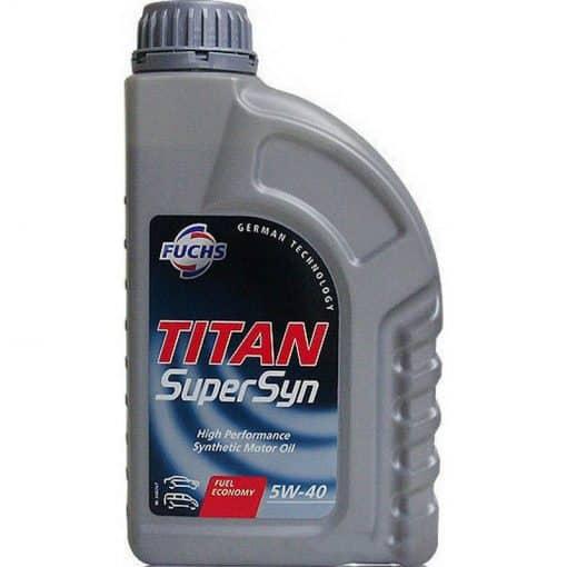 Двигателно масло FUCHS TITAN SUPERSYN 5W40 1L