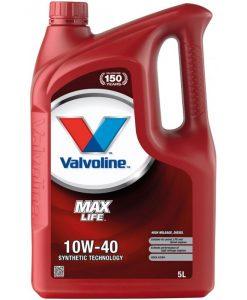 Двигателно масло VALVOLINE MAXLIFE DIESEL 10W40 5L